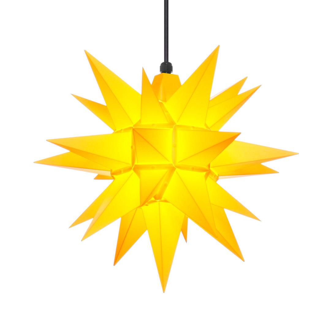 herrnhuter stern au en a4 40cm gelb adventsstern weihnachtsstern. Black Bedroom Furniture Sets. Home Design Ideas